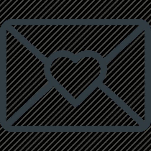 celebration, day, letter, love, mail, romantic, valentines icon