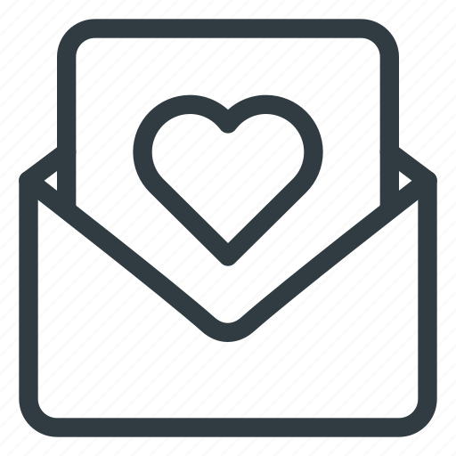 Card, day, letter, love, post, romantic, valentines icon - Download on Iconfinder