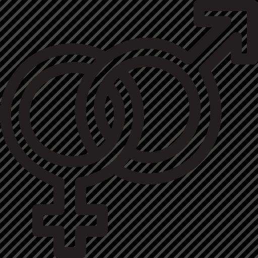 day, gender, love, loving, romance, symbols, valentines icon