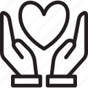 day, heart, love, loving, peace, romance, valentines icon