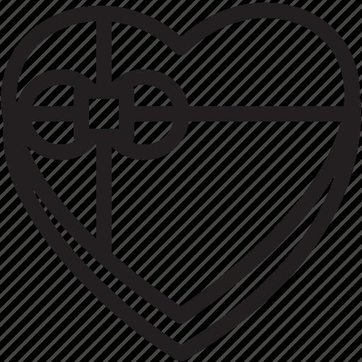 box, chocolate, day, heart, love, romance, shaped, valentines icon