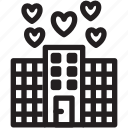 day, hotel, love, loving, peace, romance, valentines icon
