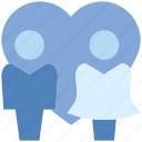 couple, heart, love, marriage, romance, valentine's day icon