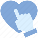 click, hand, heart, like, love, press, valentine's day
