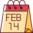 calendar, date, schedule, event, time, day, valentine
