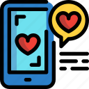 day, love, message, mobilephone, valentines