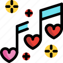 day, love, music, note, song, valentines
