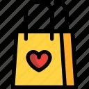 bag, day, shopping, valentine, valentines