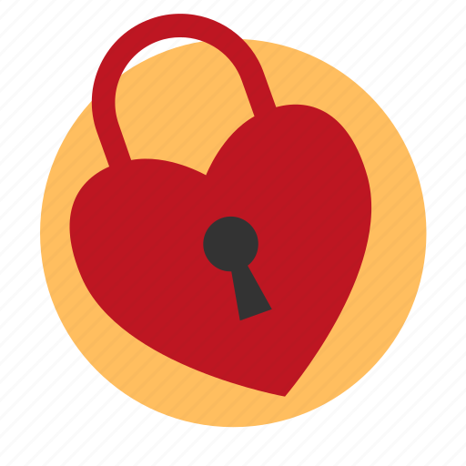 chateau, heart, lock, locking, love icon