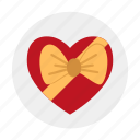 bow, candies, candy, gift, knot, love, present
