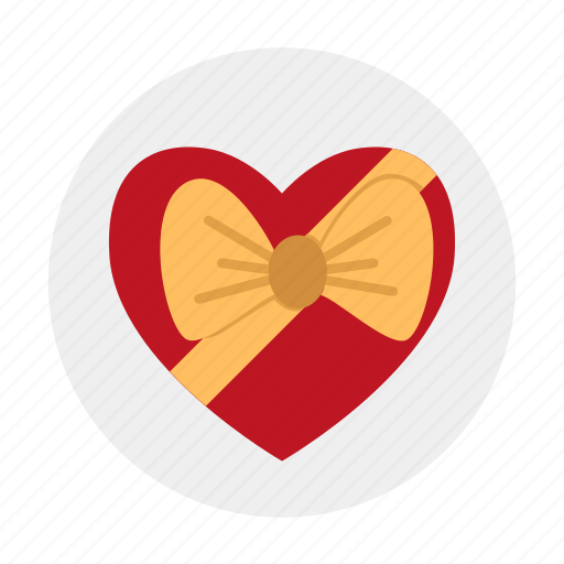 bow, candies, candy, gift, knot, love, present icon