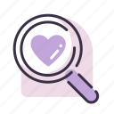 valentine's day, love, romance, heart, search