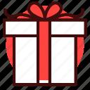 birthday, box, celebration, gift, love, present, valentine icon