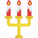 candle, heart, illumination, light, love, valentine, valentine's day icon