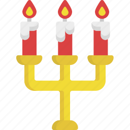 candle, heart, illumination, light, love, valentine, valentine's day icon