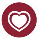 health, heart, love, pulse, romantic, valentine, valentines icon