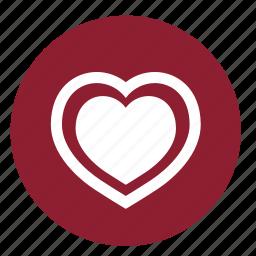 health, heart, love, pulse, romantic, valentine, valentines icon