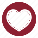 heart, love, medical, romantic, valentine, valentine's, valentines icon
