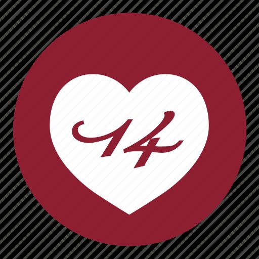 Date, heart, love, valentines, day, event, valentine icon - Download on Iconfinder