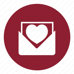 email, heart, letter, love, love letter, valentine, valentines icon