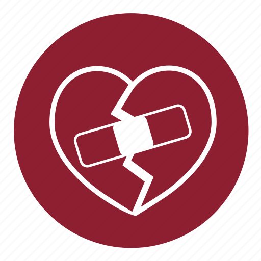broken heart, health, heart, love, pain, valentine's, valentines icon