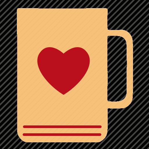Love, mug, valentine icon - Download on Iconfinder