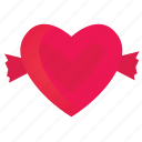 candy, heart, love, romance, valentine icon