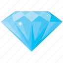 diamond, love, valentine icon