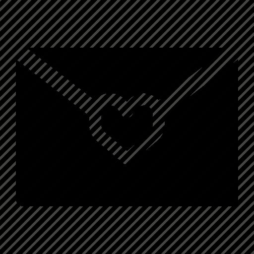 Envelope, letter, love, valentine icon - Download on Iconfinder