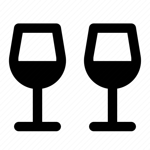 Dinner, drink, glass, valentine, wine icon - Download on Iconfinder