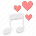 day, love, music, song, valentine icon