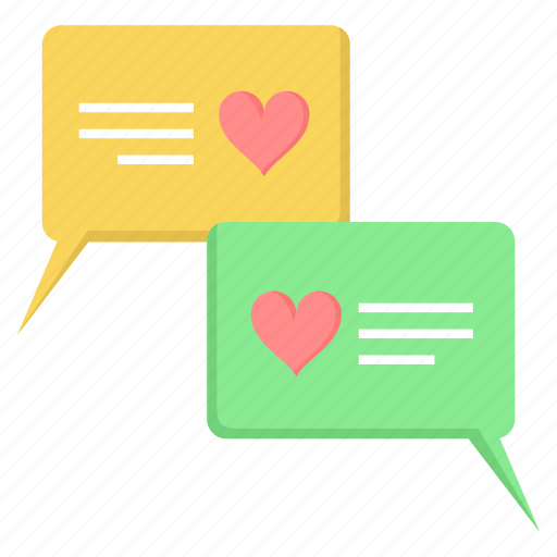 chat, day, discussion, love, promise, propose, valentine icon