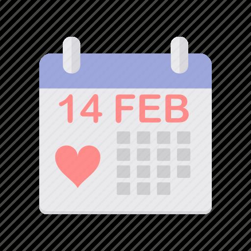 day, feb, forteen, love, romance, valentine, valentines icon