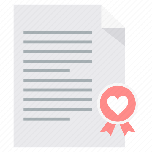 Love, letter, valentine, communication, message, valentines icon