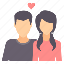 boyfriend, girlfriend, love, romance, romantic, valentine, valentines icon