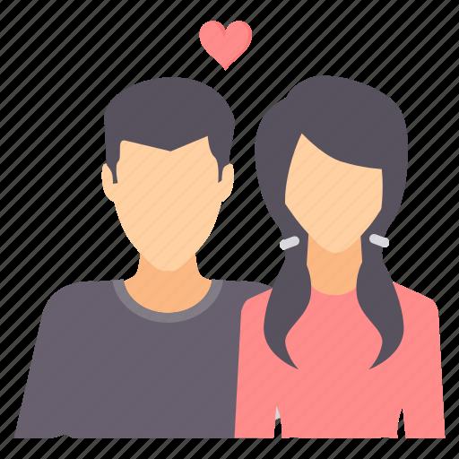 boyfriend, girlfriend, love, romance, romantic, valentine, valentines icon