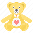 bear, day, hug, love, teddy, valentine icon