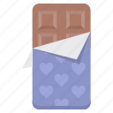chocolate, day, event, love, romance, valentine, valentines icon