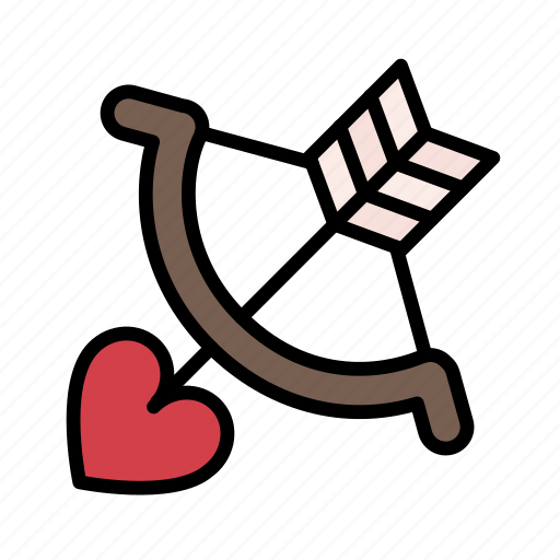 cupid, heart, love, romance, romantic, valentine, wedding icon