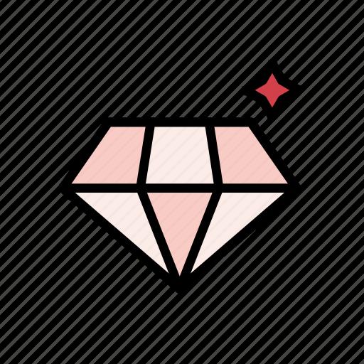 day, diamond, gift, love, romantic, valentine, wedding icon