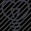 feelings, love, romantic, valentines day icon