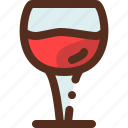 alcohol, drink, glass, wineglass icon