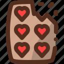 chocolate, food, sweet icon