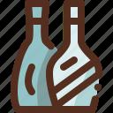 alcohol, bottle, drink, glass