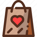 gift, love, package, valentines