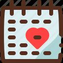 calendar, date, day, event, valentines