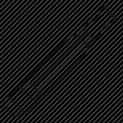 atomizer, cigarette, e-cigarette, electronic, line, outline, vaping icon