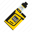 cigarette, cloud, e-cig, electronic, mod, vape, vaping icon