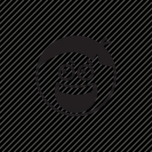 emoji, emoticon, face, fear, horrible, scary, smiley icon