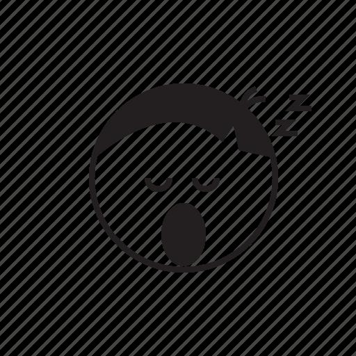 emoji, emoticon, face, sleep, sleepy, smiley icon